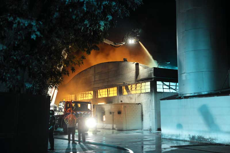 Incendio en Talar