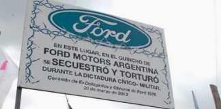 Juicio Lesa Humanidad Ford