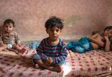 Niños refugiados Sirios
