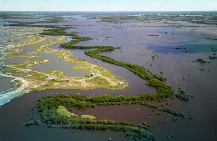 Delta inundación