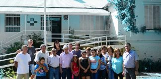 Andreotti visita las Escuelas del Delta