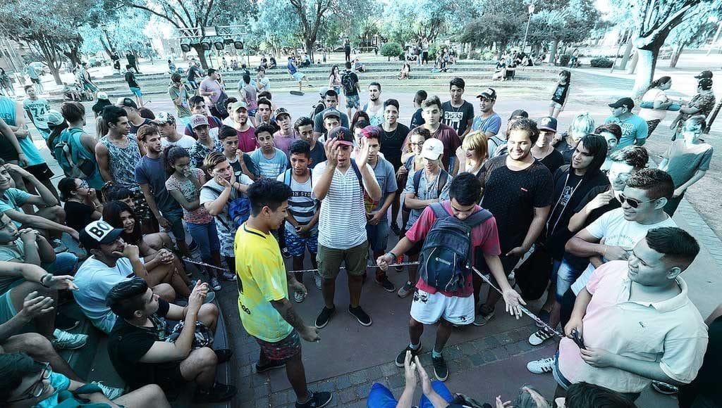 freestyle en la plaza pacheco