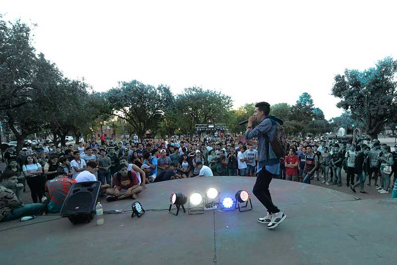 freestyle en la plaza pacheco