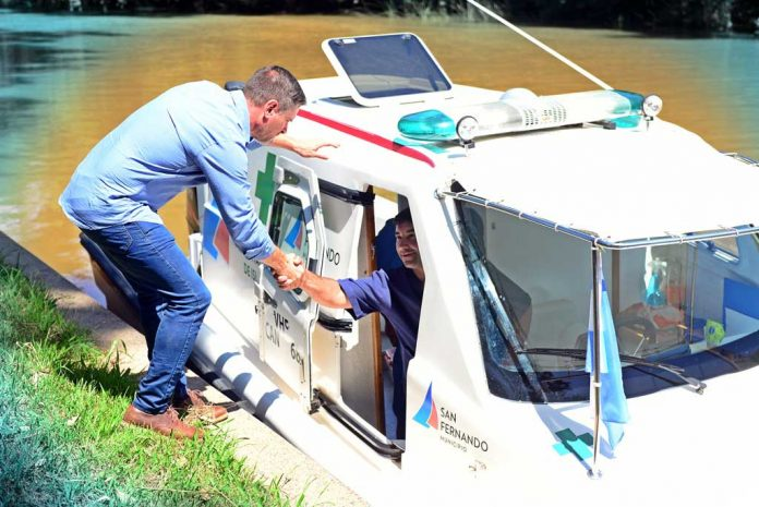 Lancha Ambulancia San Fernando