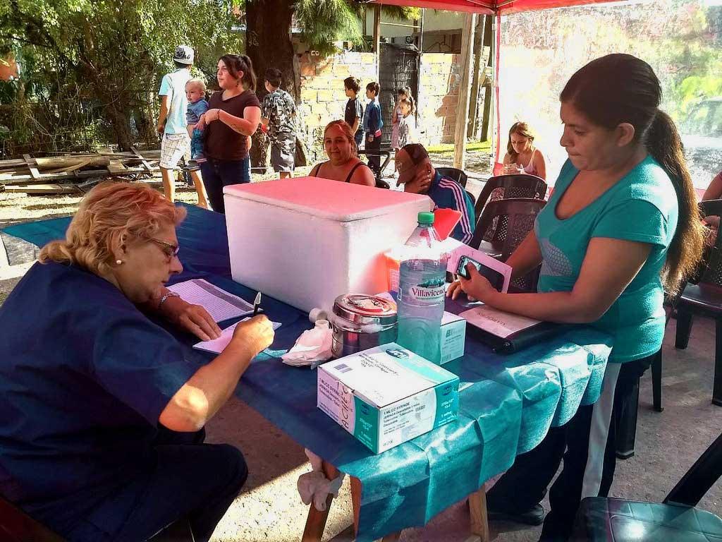 Operativo de Salud en Pacheco