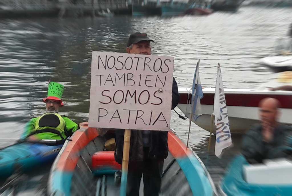 Corte de Río Tigre por Transporte Fluvial