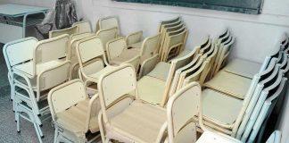 Mobiliario para escuelas