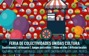 Feria de las Colectividades @ Plaza Ángel Pacheco