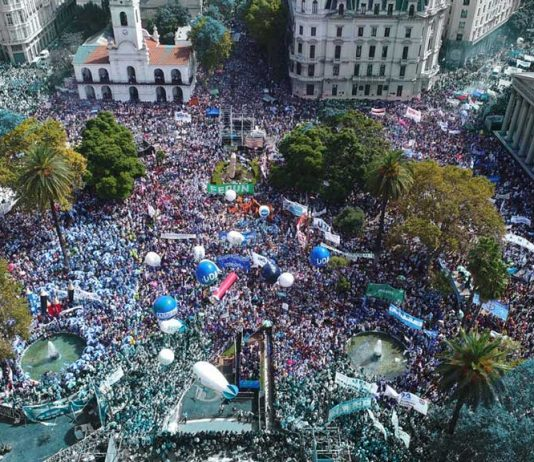 Marcha Federal Docente