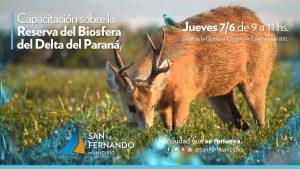 Capacitación sobre la reserva de biosfera del Delta del Paraná @ Quinta El Ombú