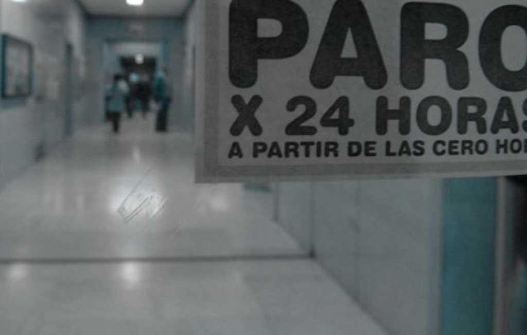Hospitales de paro