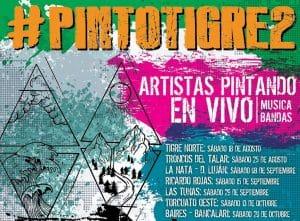 Pintó Tigre 2 @ Puente la Inmaculada Concepción  | Los Troncos del Talar | Buenos Aires | Argentina