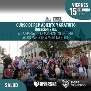 Curso de RCP @ Aula Magna de la Maternidad de Tigre | Tigre | Buenos Aires | Argentina
