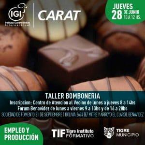 Taller de Bombonería @ SOCIEDAD DE FOMENTO 21 DE SEPTIEMBRE | Benavidez | Buenos Aires | Argentina