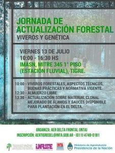 Jornada de actualización forestal @ IMASN - Estación Fluvial Tigre   Tigre   Buenos Aires   Argentina