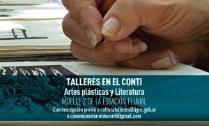 Talleres de Artes Plásticas y Literatura @ Museo Haroldo Conti | Tigre | Buenos Aires | Argentina