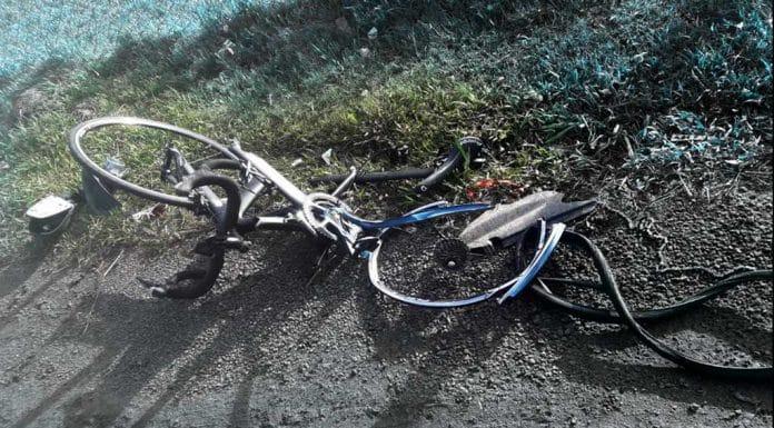 Bicicleta embestida