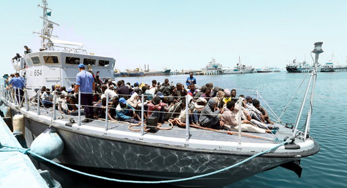 Barco Libia