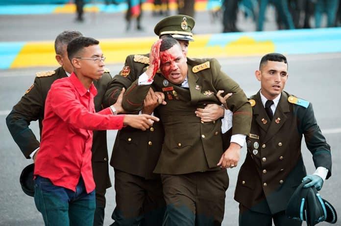 Atenado a Maduro