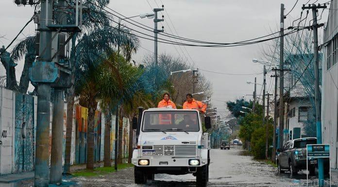 Operativo alerta por Marea en San Fernando