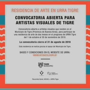 Convocatoria abierta para Artistas Visuales de Tigre