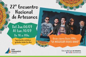 Encuentro Nacional de Artesanos de San Fernando @ Plaza Mitre | San Fernando | Buenos Aires | Argentina
