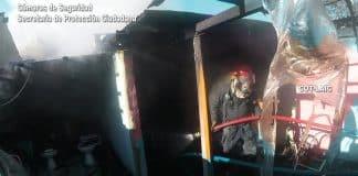 Incendio en Pacheco