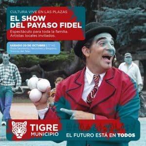 Cultura Vive en las Plazas @ Plaza de las Américas | Tigre | Provincia de Buenos Aires | Argentina