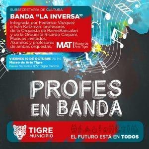 Viernes 19 de Octubre a las 20.00 hs @ Museo de Arte Tigre | Tigre | Provincia de Buenos Aires | Argentina