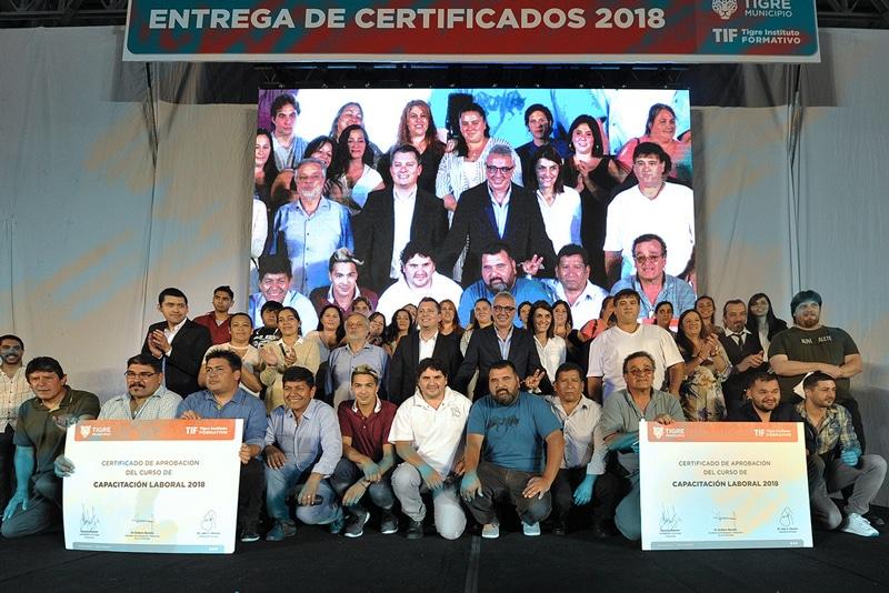 Certificados TIF 2018