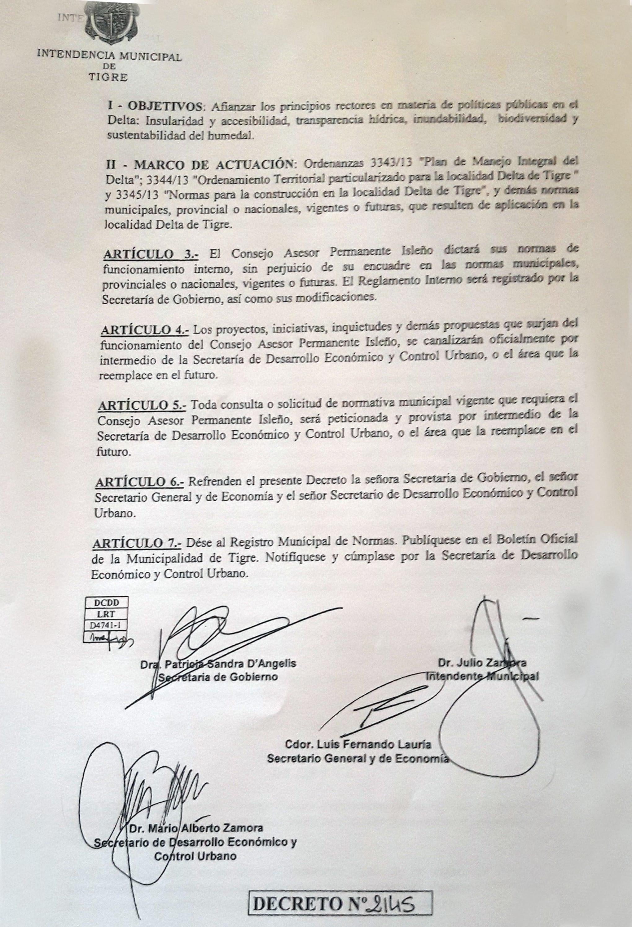 Decreto CAPI