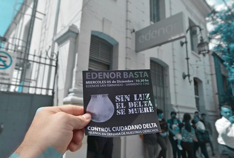 Marcha a Edenor 5-12