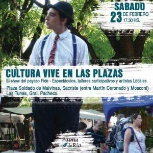 CULTURA VIVE EN LAS PLAZAS @ En Plaza Soldado de Malvinas | Martín Coronado | Buenos Aires | Argentina