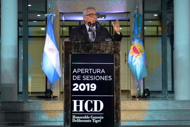 Apertura de Sesiones Concejo Deliberante Tigre 2019