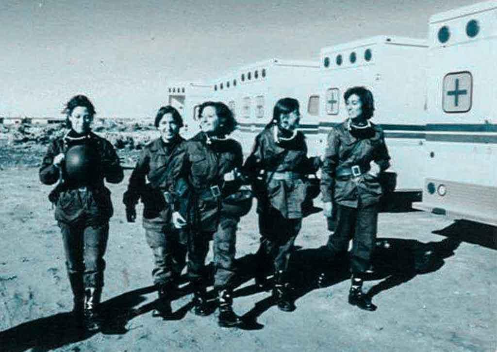 Veteranas de Malvinas
