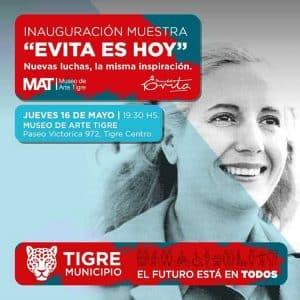 """Muestra """"Evita es hoy. Nuevas luchas, la misma inspiración"""" @ MAT"""