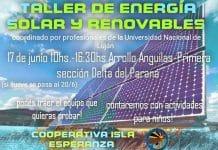 Taller energías renovable