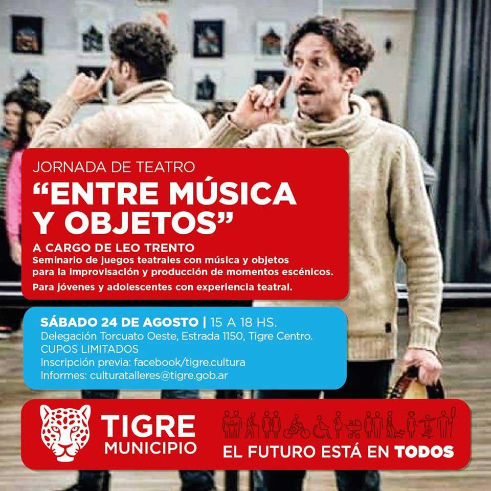Entre música y objetos: Jornada de Teatro @ SUM de la Delegacion de Torcuato Oeste | Don Torcuato | Buenos Aires | Argentina