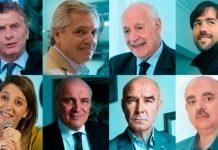 Candidatos PASO Presidente