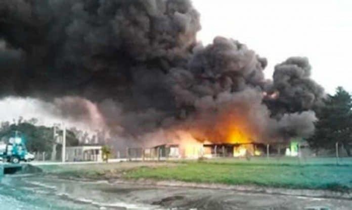 Explosión de Fabrica de Agrotóxicos