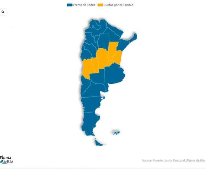 Mapa País