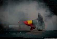 Represión en Bolivia
