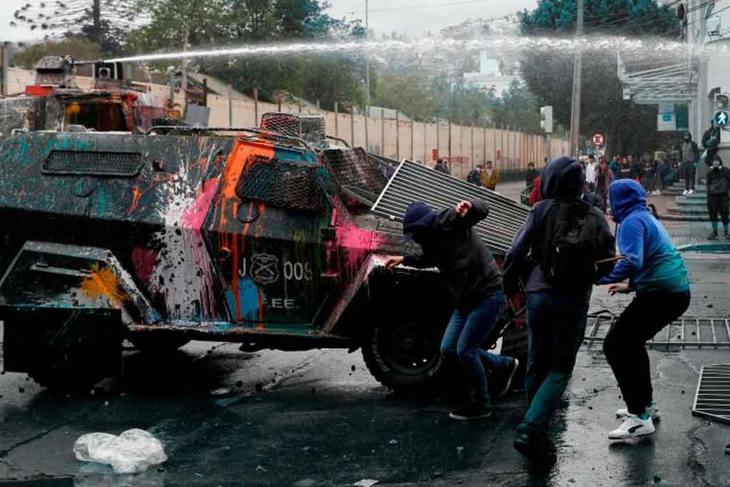 Chile represión