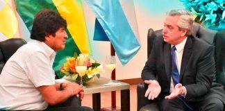 Evo Morales Y Alberto Fernandez