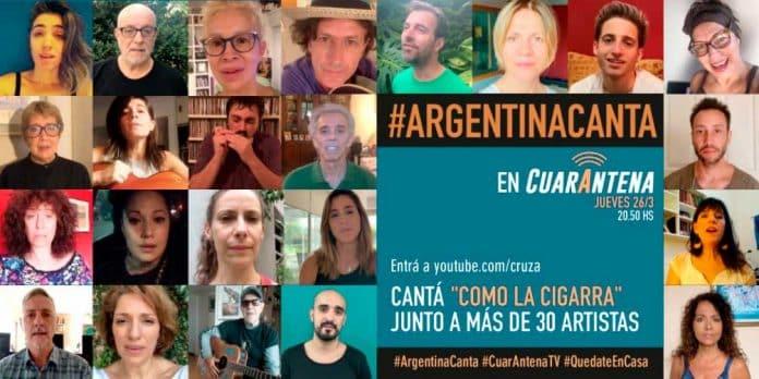 Argentina canta