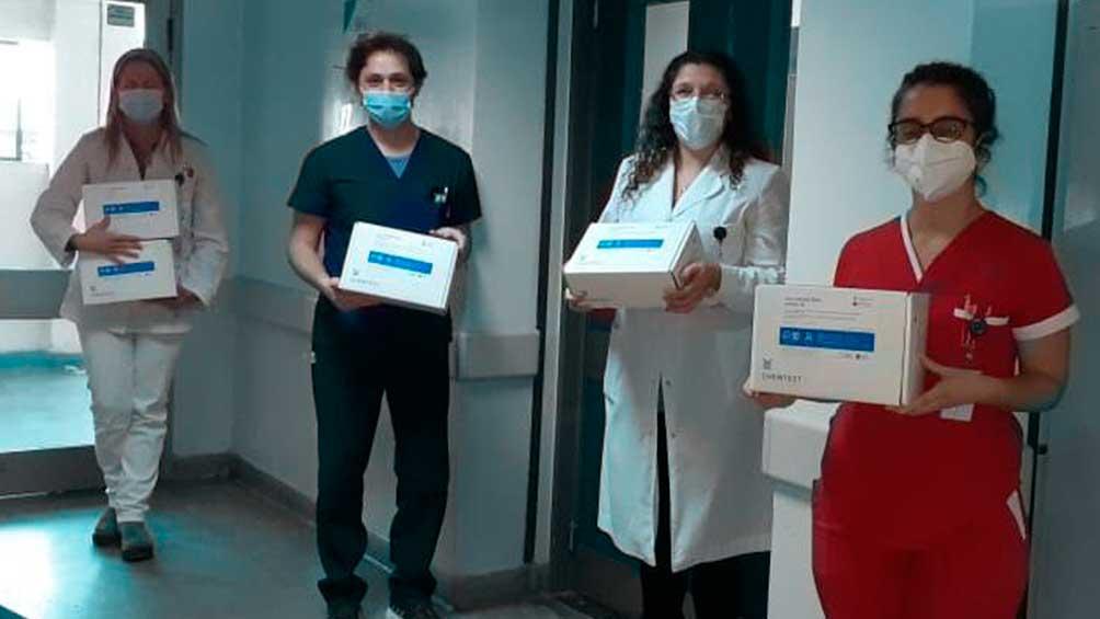 Kit de diagnóstico rápido