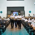 municipalidad- homenaje al personal policial