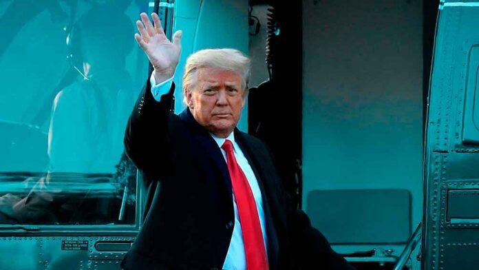 Trump despedida